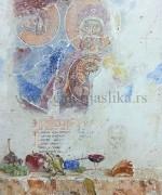 Hilandar 3 50x60cm Vizija svetog Atanasija Atinskog