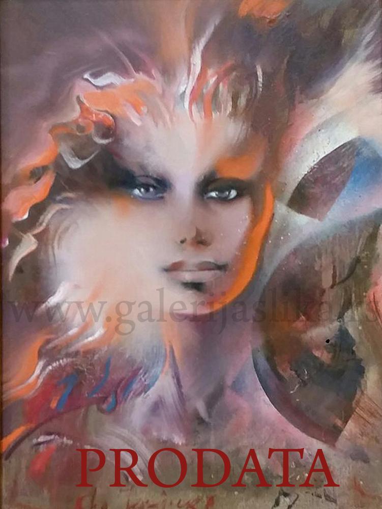Slikar Olja Ivanjicki Slike Galerija Slika Beli Andjeo Art