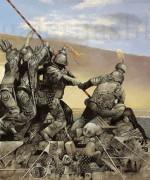 Omaz Robertu Kapi – ulje na platnu – 70x140cm