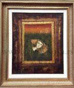 Mersad Berber 50x60cm – Vizantija II – ulje na kozi