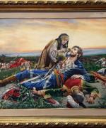 Pedja Radovanovic 70x100cm – Kosovka devojka (po Urosu Predicu)