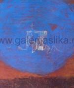 Aleksandar Cvetkovic 50x70cm – ulje na kartonu