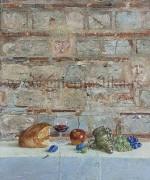 Hilandar 8 55×70 Zid crkve Kralja Milutina