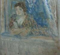 Ivan Tabakovic 60x60cm – akvarel