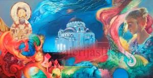 Sandor Slajf , slike , galerija slika Beli Andjeo