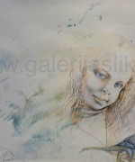 Olja Ivanjicki ulje-akvarel-pastel 70x100cm