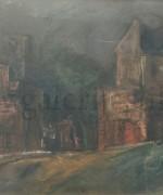 Jovan Bijelic 33x54cm – pastel-akvarel-gvas na kartonu