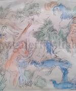 Nedeljko Gvozdenovic 17x22cm – akvarel
