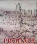 Stojan Aralica 13x16cm – flomaster na papiru