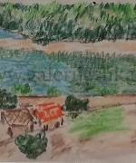 Djordje Ilic 32x39cm – pastel