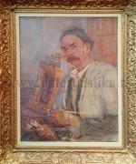Vinko Grdan 56x76cm – 1955.godina – Autoportret