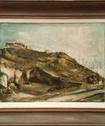 Mladen Josic 45x60cm – Pejzaz – 1940-te godine – ulje na dasci – svojstvo kulturnog dobra