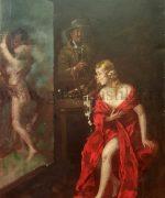 Stevan Aleksic 32×48 cm – 1919.godina – ulje na kartonu – svojstvo kulturnog dobra