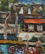 MIlan Konjovic 54x73cm-1946.godina-Strand-ulje na kartonu-monografija broj 1108-svojstvo kulturnog dobra