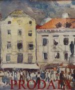 Nikola Besevic 32x43cm – akvarel
