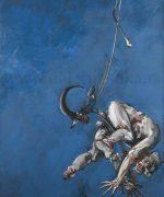 Vladimir Velickovic 198x146cm – Crochet. Fig Vii – 1986-1988 – ulje na platnu