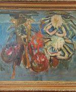 Milo Milunovic 65x82cm – Krabe i tikve – ulje na lesonitu – svojstvo kulturnog dobra