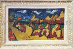 Milan Konjovic, slike, galerija slika Beli Andjeo