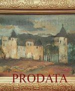 Jovan Bijelic 35x55cm – Bosanski predeo – 1930-te godine – ulje na kartonu – svojstvo kulturnog dobra
