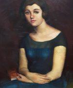 Lazar Licenoski 57x81cm – 1927. godina – ulje na platnu