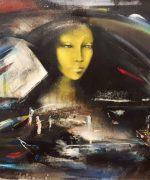 Olja Ivanjicki 61x81cm – Noc pocela da dise – 1976.godina – ulje na platnu