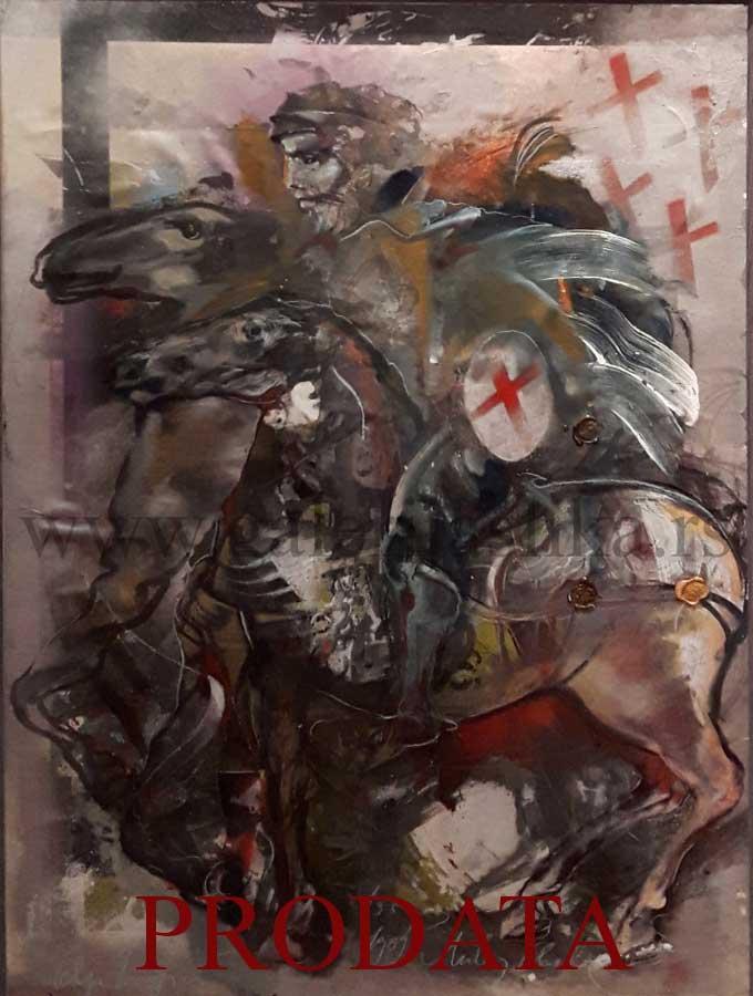 Olja Ivanjicki Nova Slika Galerija Slika Beli Andjeo