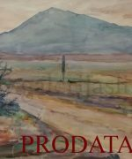 galerija slika Beta Vukanovic 31x47cm-Iznad-Prizrena-1920.godina-gvas-svojstvo-kulturnog-dobra-