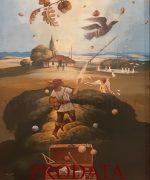galerija slika Milic od Macve 40x31cm – Zlatna gora – ulje na lesonitu