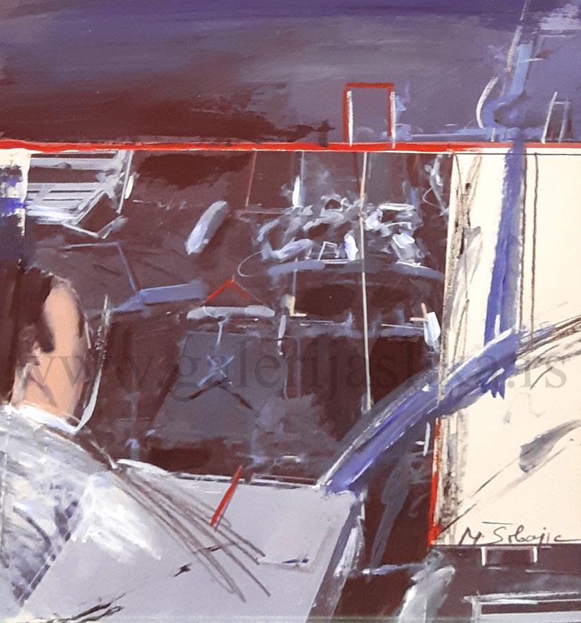 galerija slika Milos Sobajic 30x25cm