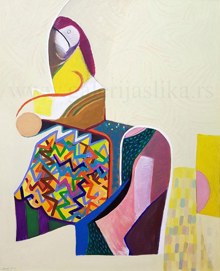 galerija slika Borko Petrovic 150x130cm